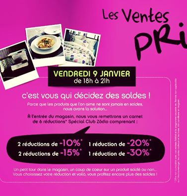 Vente Privee Special Soldes Les Concours Blog Zodio