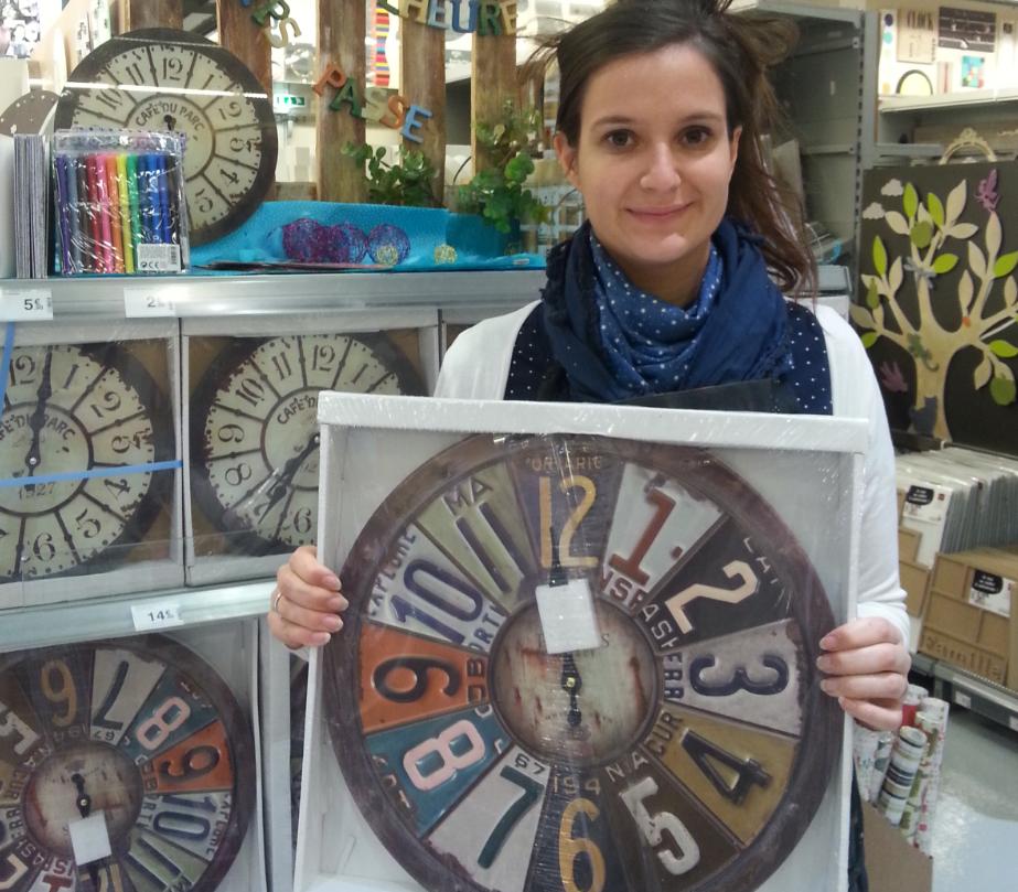 J 39 ai choisi pour mes parents une horloge blog z dio for Horloge zodio
