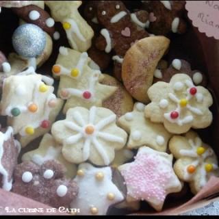 Petits biscuits de Noël au Mascarpone