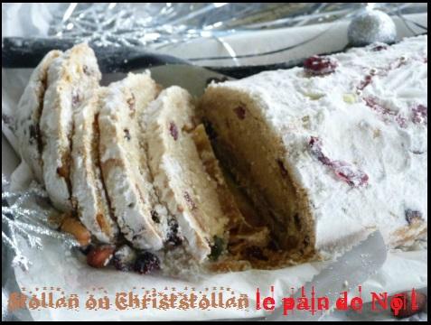 ? Stollen ou Christstollen le pain de Noël ?