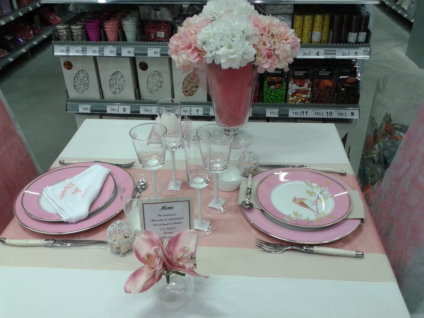 Mariage bapteme communion blog z dio - Nappes et serviettes de table ...