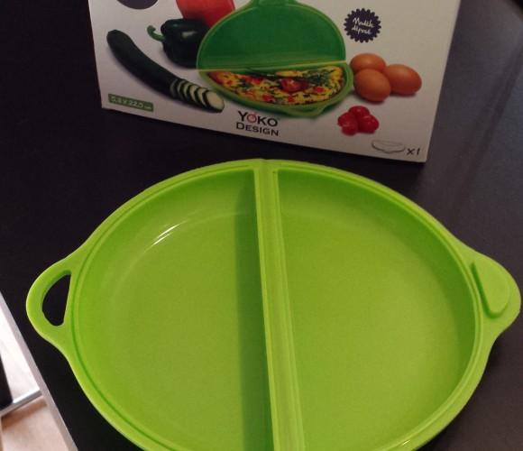 J'ai testé pour vous : le cuit-omelette de chez Yoko Design !