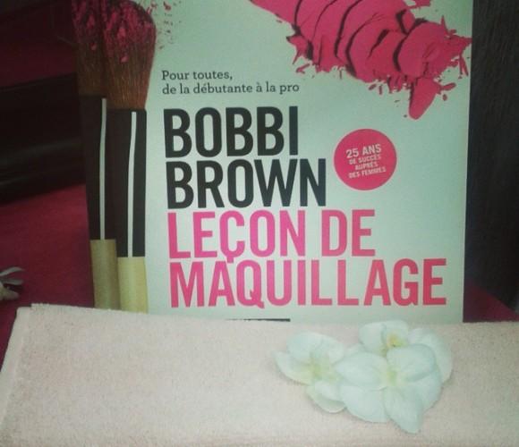 J'ai choisi pour ma meilleure amie le livre de Bobbi Brown «Leçon de maquillage» !