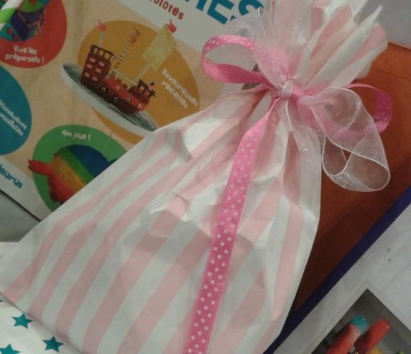 Que mettre dans la pochette cadeau que l'on offre aux copains lors d'un anniversaire?