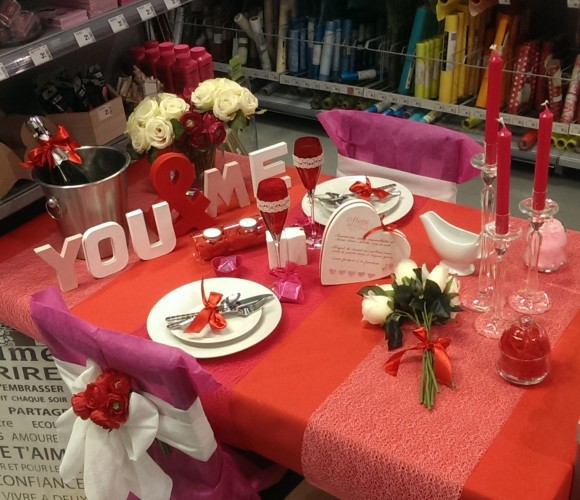 LA TABLE ST VALENTIN