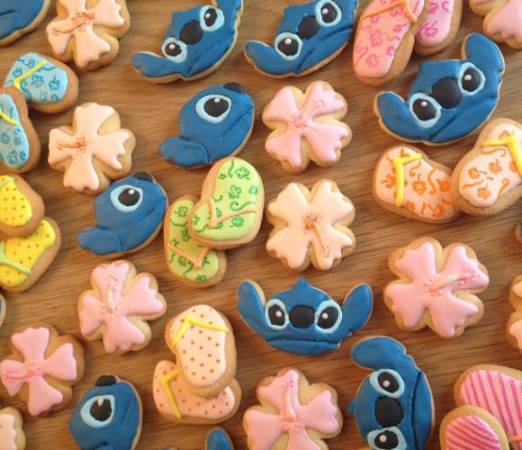 Un peu de soleil en ce mois de janvier… avec des biscuits Lilo & Stitch!