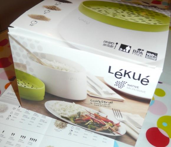 Rice and grain cooker, oui enfin le cuiseur à riz de LEKUE quoi !