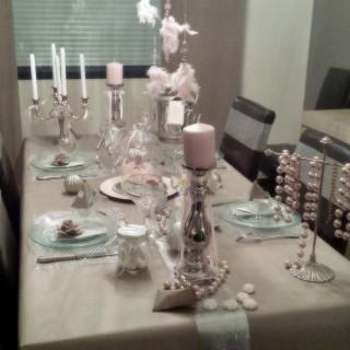 La table de Noël romantique