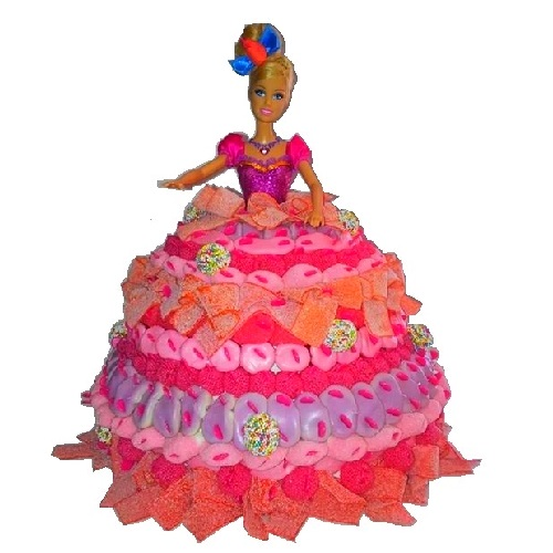«THE» gateau de bonbons de princesses
