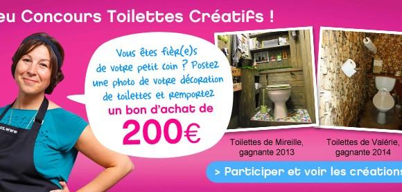 Jeu Concours Toilettes Créatifs