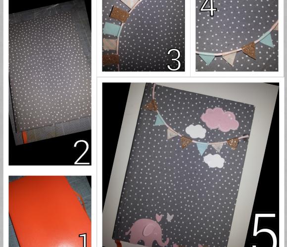 Customisez une couverture d'un cahier !