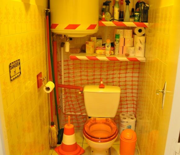 Toilettes en chantier !