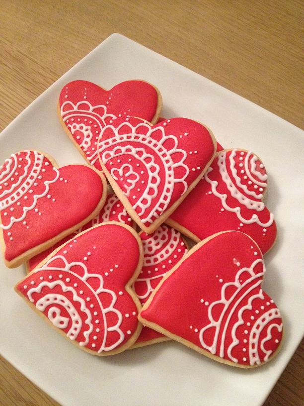 Biscuits d'amour...