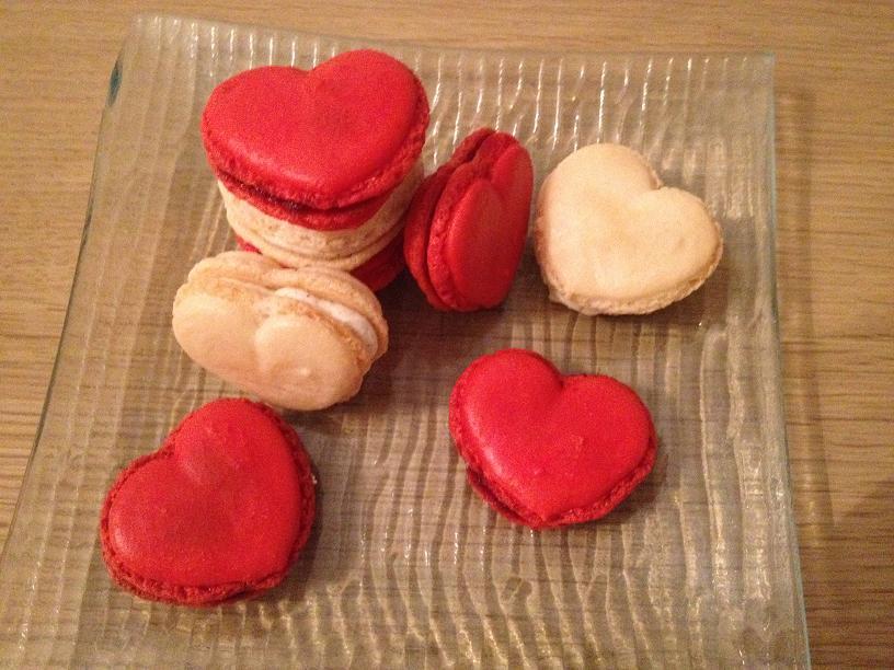 Macarons des amoureux