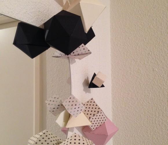 Création d'un mobile origami
