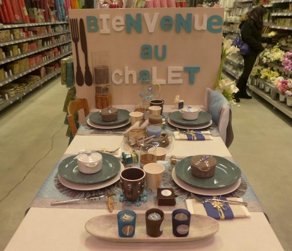 Nouvelle table éphémère dans votre magasin zodio angers