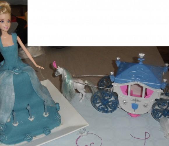 Gâteau Cendrillon