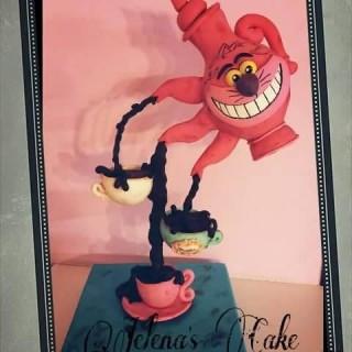 Gâteau sculpté