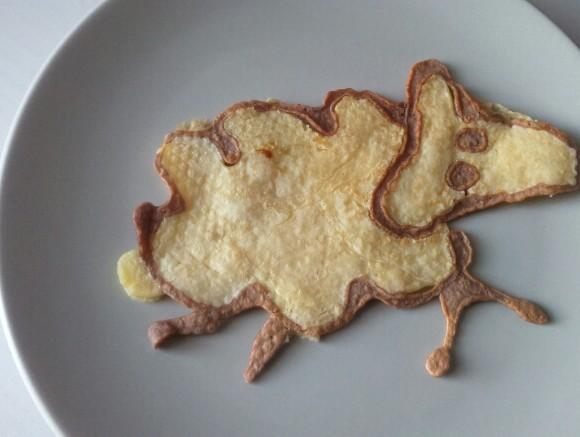 Les pancakes créatifs