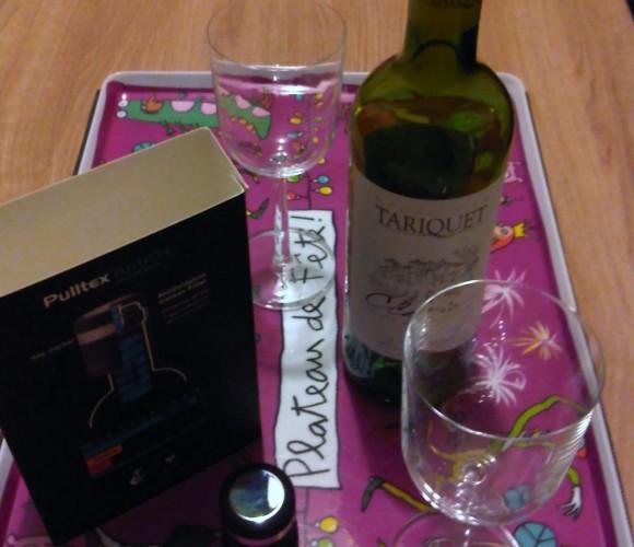 J'ai testé pour vous … le bouchon à vin en silicone «AntiOx» Pulltex