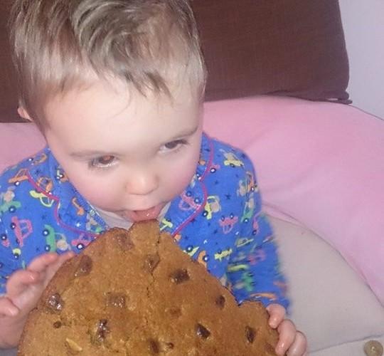 Le cookies géant de babichou!!