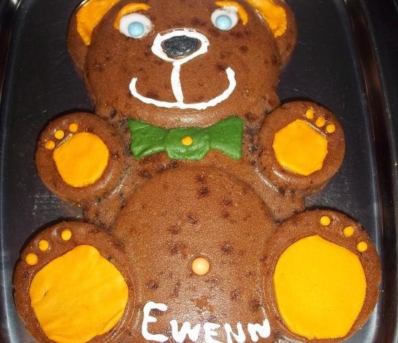 Le gâteau ourson