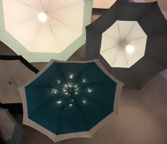 Mon luminaire parapluie!
