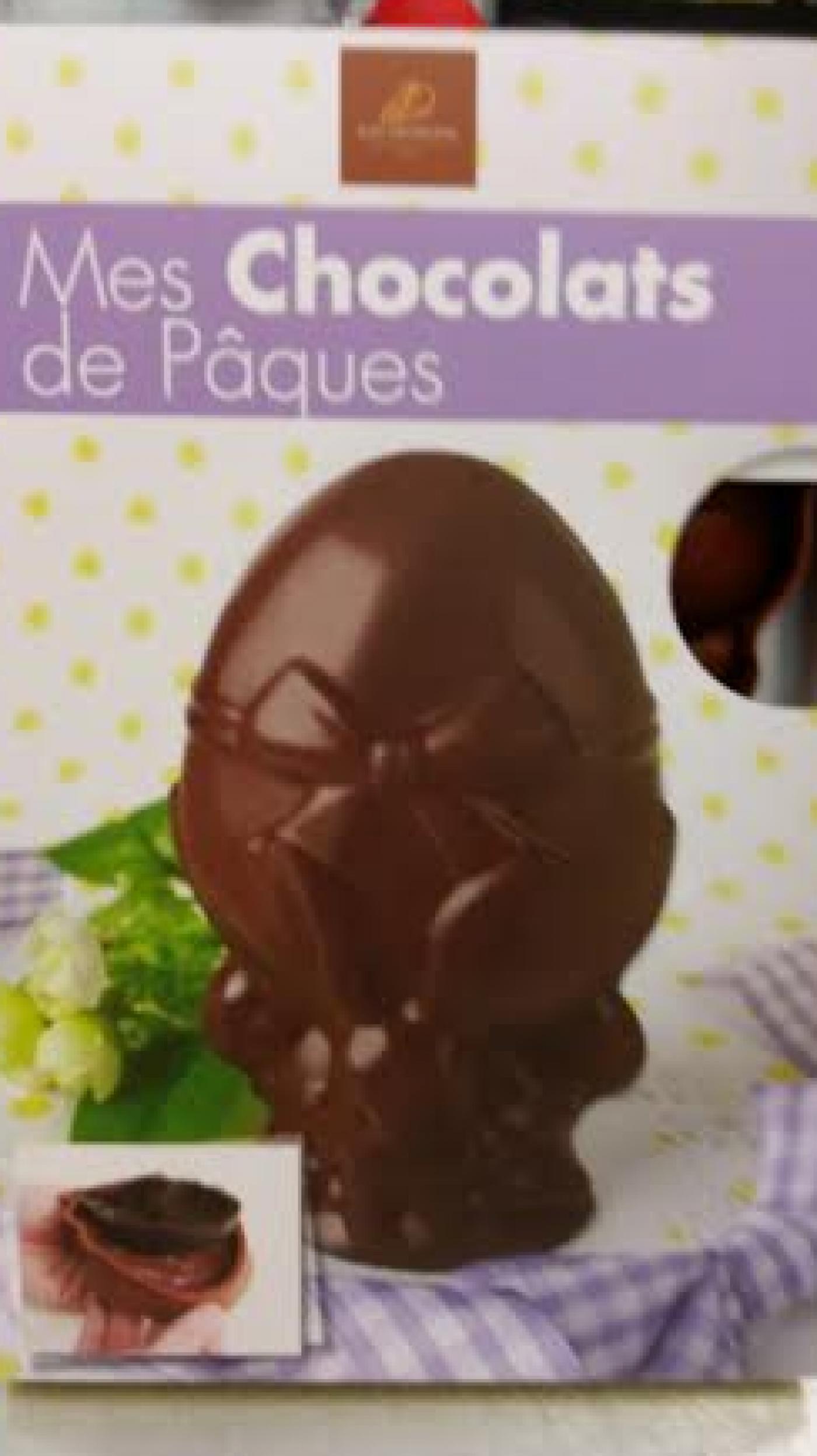 J'ai testé pour vous le moule chocolat de Pâques en forme de poule, lapin et oeuf