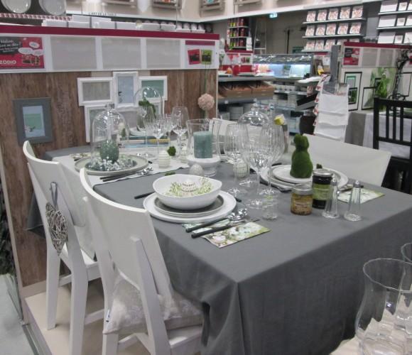 NOUVELLES TABLES POUR LE PRINTEMPS