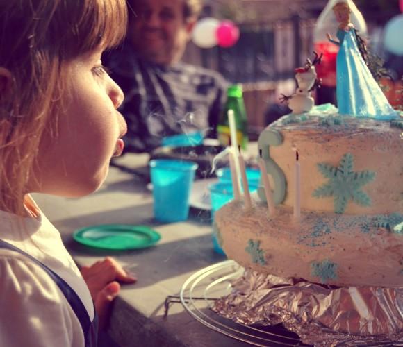 Gâteau d'anniversaire, FACILE! Reine des neiges, Fée clochette…!