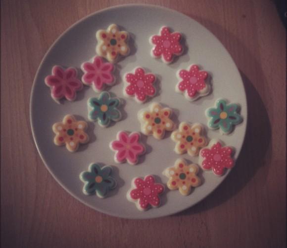 J'ai testé pour vous … Les moules pour chocolats imprimés «fleurs»