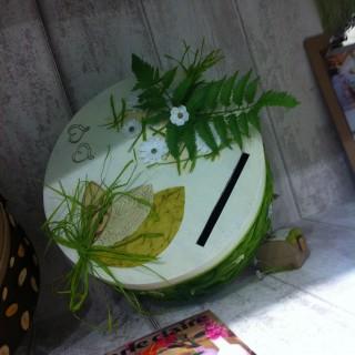 mon urne de mariage au thme champtre - Urne Mariage Champetre