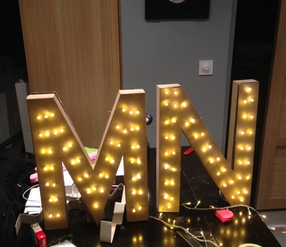 Mes lettres lumineuses