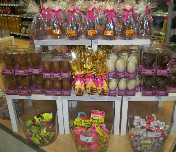 Pâques…… et ses chocolats!!