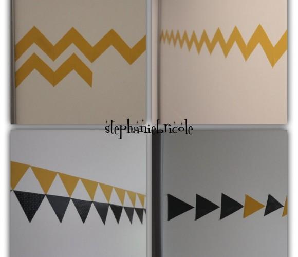 Des frises géométriques grâce aux produits zodio !