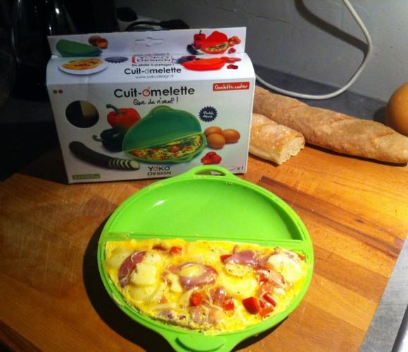 J'ai testé pour vous le cuit omelette