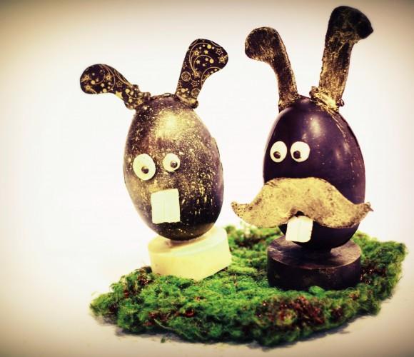 Mes créations en chocolat pour Pâques
