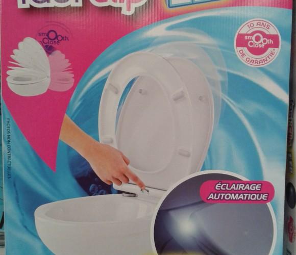 L'abattant WC lumineux de MTK
