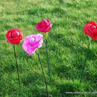 """Des oeufs de Pâques """"en fleurs"""""""