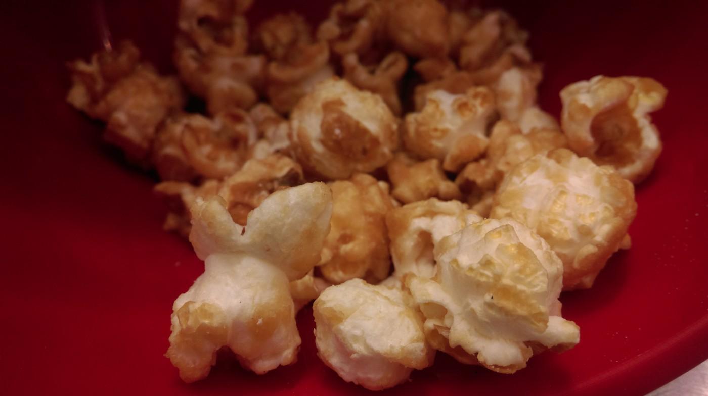 Du popcorn sur mesure!