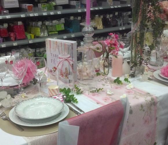 Une table romantique digne des plus beaux mariages ça vous dit ?