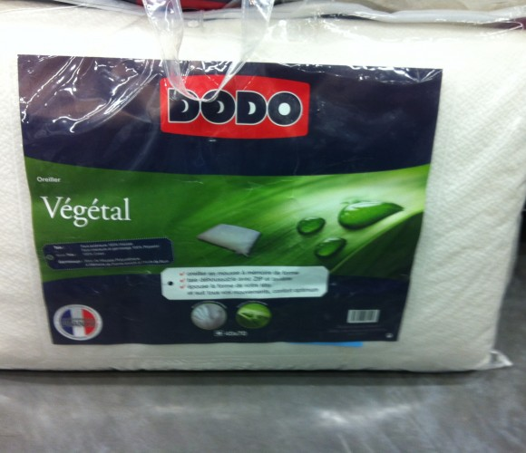 J'ai testé pour vous l'oreiller Végétal de DODO 45×70