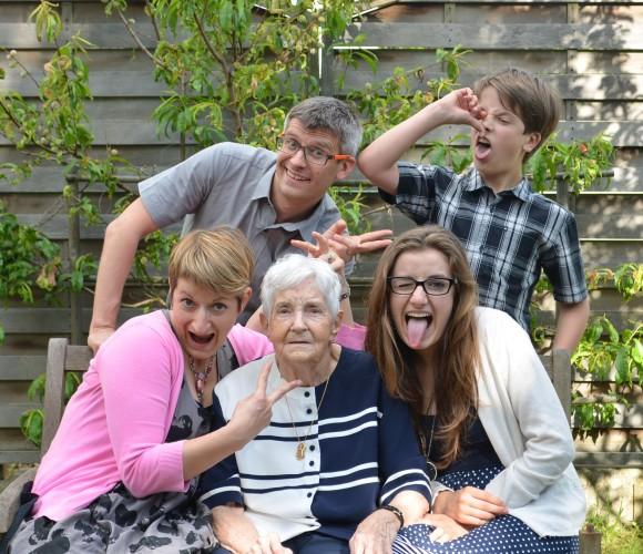 la famille «on est à fond» !!!
