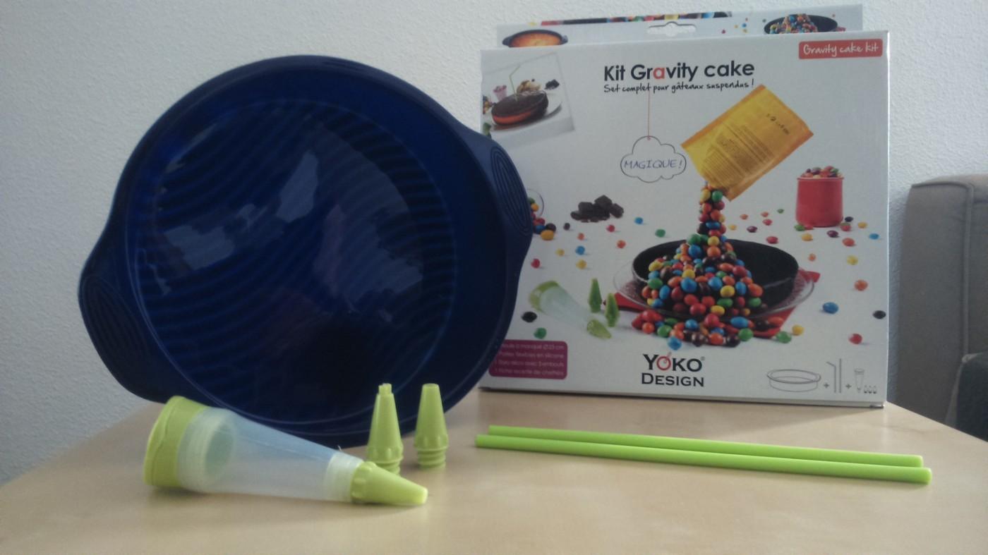 J'ai testé pour vous le kit Gravity cake de Yoko Design