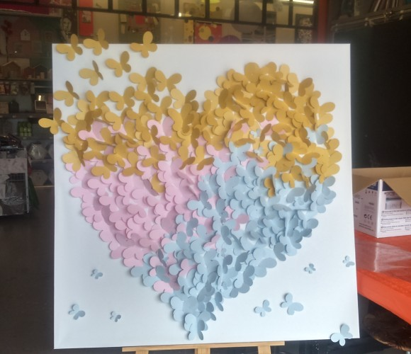 J'ai testé pour vous l'atelier Home déco Papillons à la scan and cut