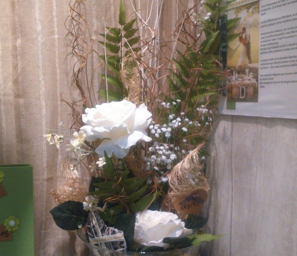 J'ai testé pour vous l'atelier décoration Florale (Vase, Pot ou tableau)