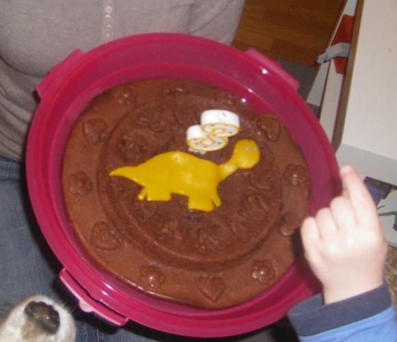 J'ai testé pour vous le moule à Gâteaux en silicone Scrap Cooking – » JOYEUX ANNIVERSAIRE»
