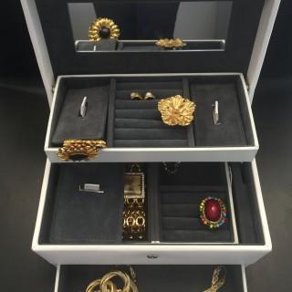 J'ai choisi pour ma Maman le coffret à bijoux similicuir by Lc Design