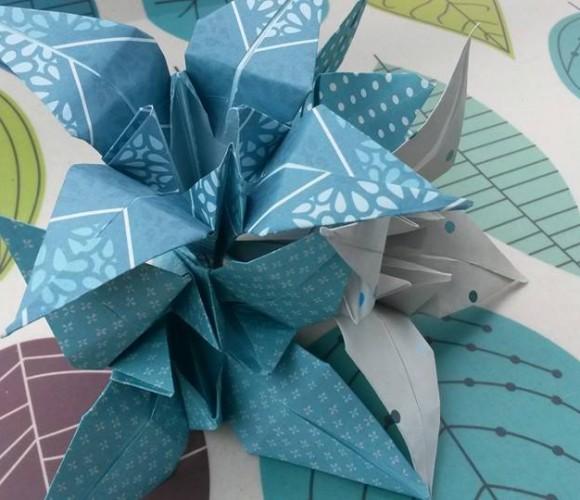 j'ai testé pour vous …les ayame en origami !