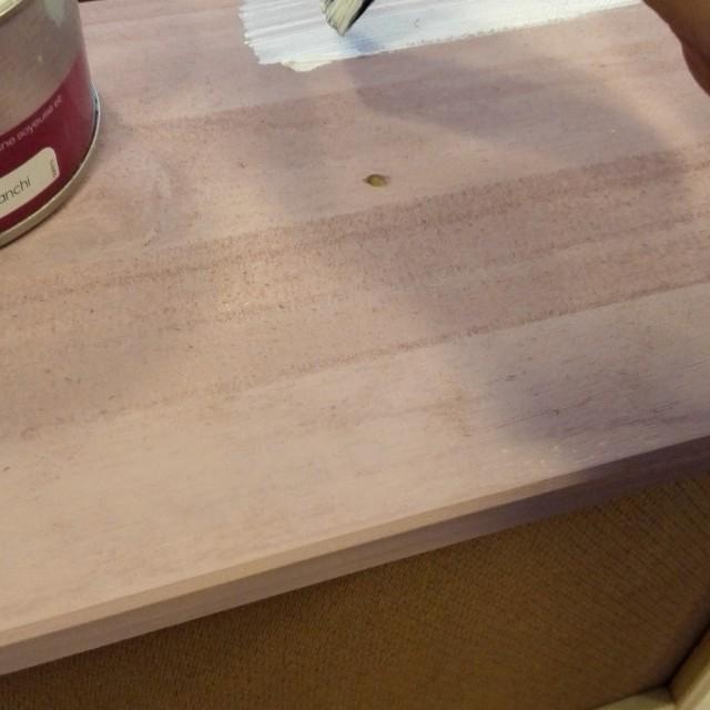 Je relooke les meubles de maman gr ce la cire effet - Cire a effet blanchi liberon ...